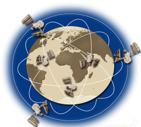 GPS Symbol Illustration